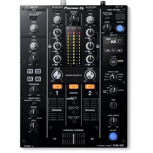 PIONEER DJM-450-K Mixer Dj 2 Canali