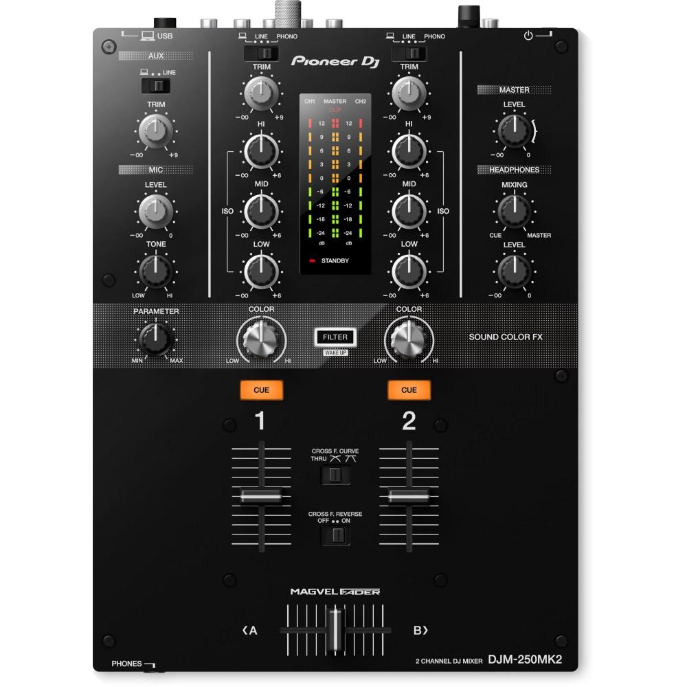 Pioneer DJM 250MK2 fronte