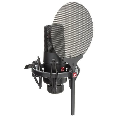 sE Electronics X1S Vocal Pack Microfono a Condensatore con Antipop e Shock Mount
