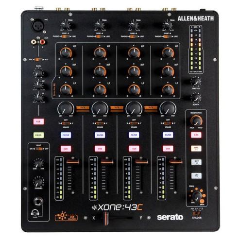 ALLEN & HEATH XONE 43C MIXER PER DJ 4+1 CANALI CON SCHEDA AUDIO