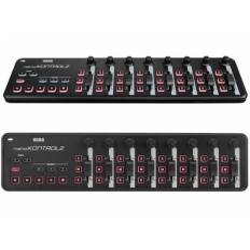 KORG NANO KONTROL2 BK MIDI CONTROLLER