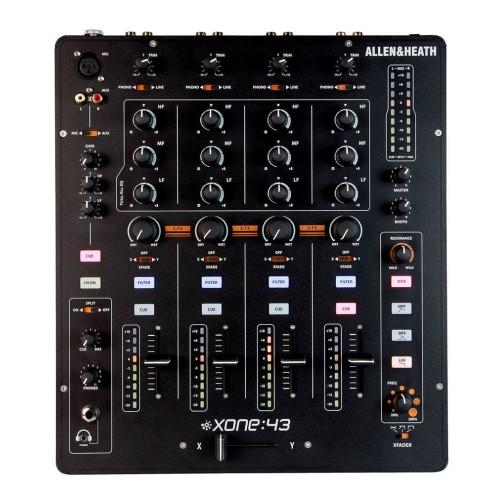 ALLEN & HEATH XONE 43 MIXER PER DJ 4 CANALI