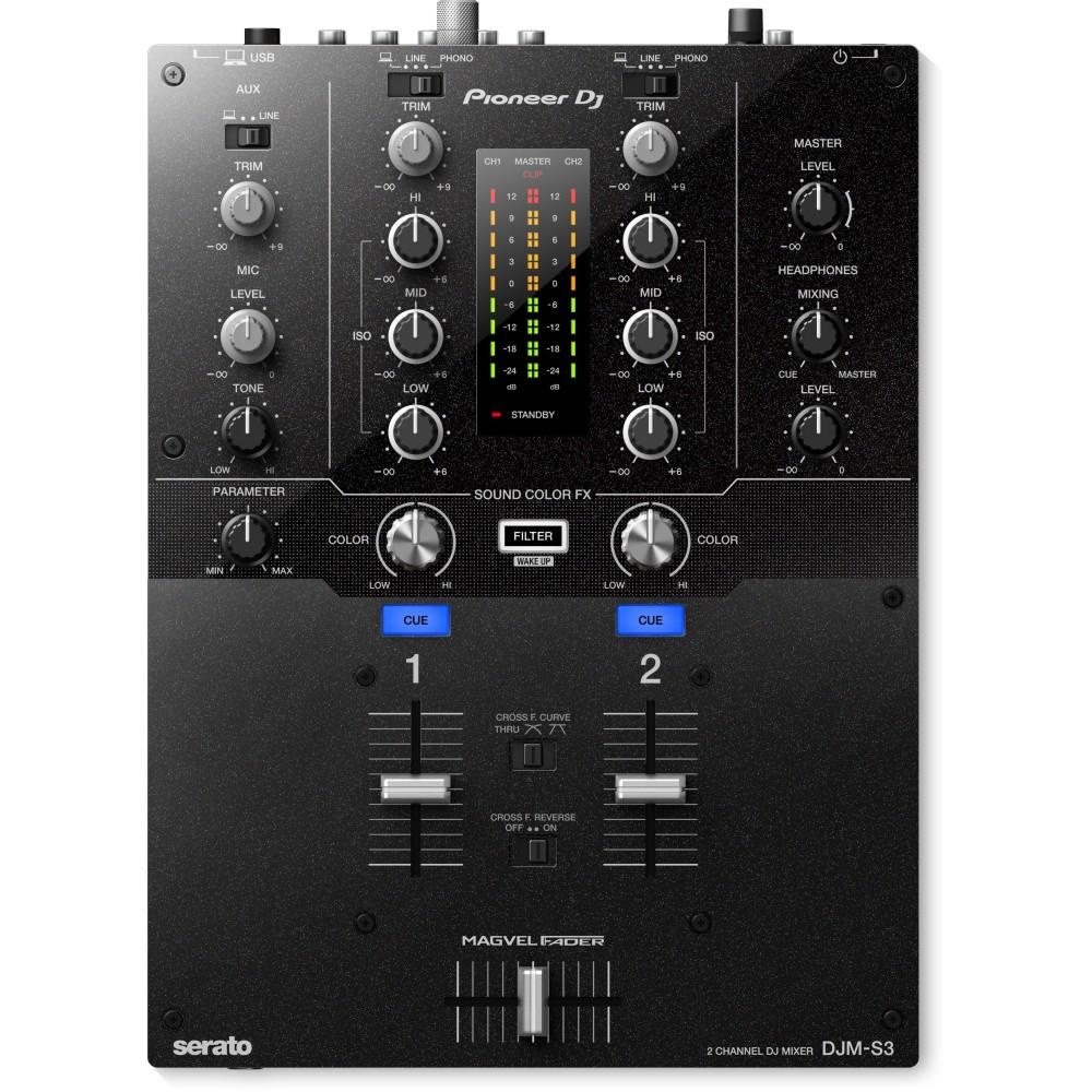 Pioneer DJM S3 Mixer Dj 2 Canali per Serato Dj