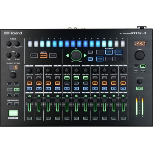 ROLAND MX-1 Mixer e Superficie di Controllo