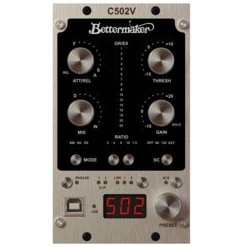 BETTERMAKER C502V COMPRESSORE STEREO/DUAL/MONO SERIE 500