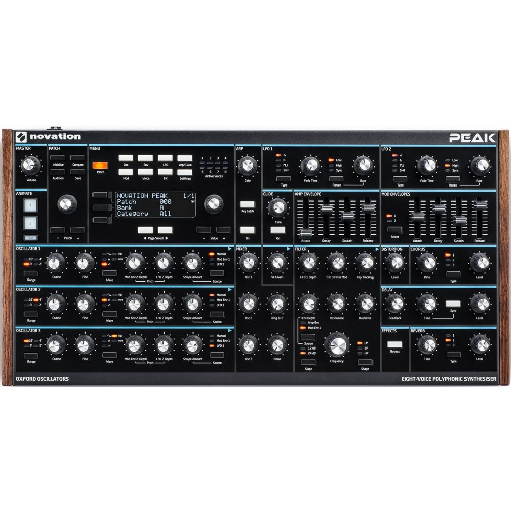 Novation Peak Synth Polifonico 8 Voci