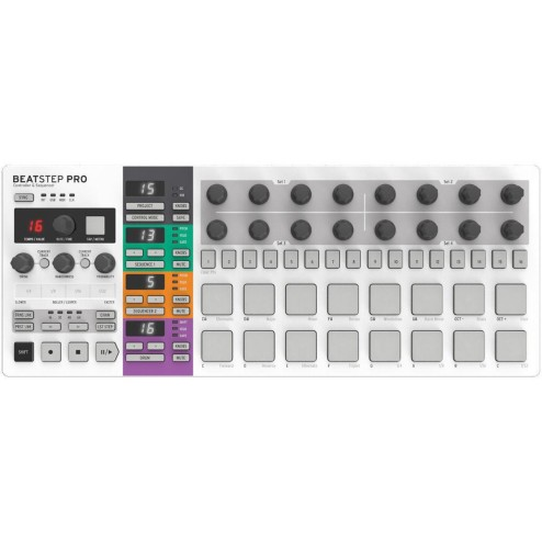 Arturia Beatstep Pro Controller Usb Step Sequenser