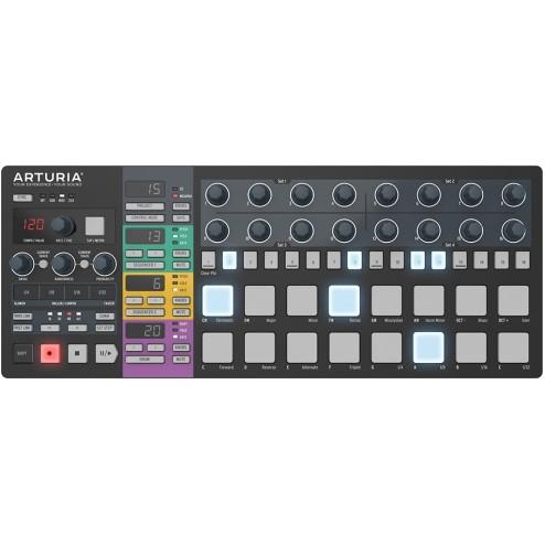 Arturia Beatstep Pro Black Limited Edition Superficie di controllo e step-sequencer
