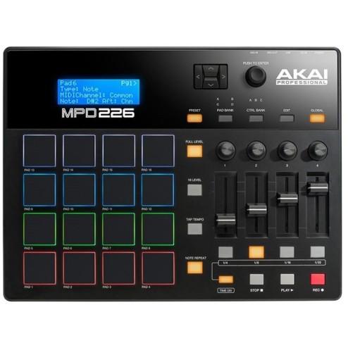 Akai MPD 226 Controller Usb con Ableton Live Lite