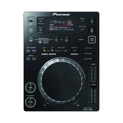 PIONEER CDJ-350-K LETTORE CD PROFESSIONALE PER DJ